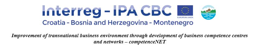 """Priopćenje za medije – prvi partnerski sastanak u okviru projekta """"competenceNET"""""""